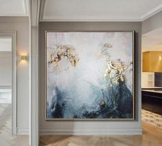 Large Oil Painting Original Canvas Gold Leaf Painting Wall Art Canvas Abstract Contemporary Art Painting Wall Painting For Living Room Großes Ölgemälde Original Leinwand Blattgold Malerei Wandkunst Art Sur Toile, Oil Painting Abstract, Abstract Art, Painting Art, Large Painting, Watercolor Painting, Painting People, Abstract Portrait, Watercolor Artists