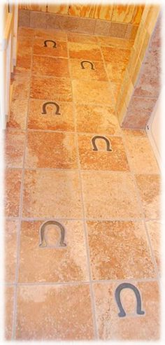 Decorative ceramic tile, custom hand made tile -- Tiles with Style Equestrian Decor, Western Decor, Country Decor, Rustic Decor, Cowboy Bathroom, Horse Bathroom, Bathroom Ideas, Small Bathroom, Home On The Range