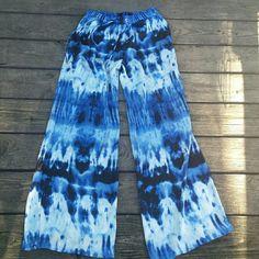 Michael Kors Blue Palazzo Pants Michael Kors Blue Palazzo Pants. Size 2. EUC. Perfect for the summer! MICHAEL Michael Kors Pants