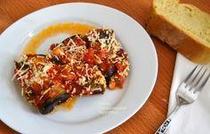 Ρολά μελιτζάνας και κολοκυθιού με τυρί, σε σάλτσα ντομάτας - cretangastronomy.gr