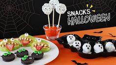 HALLOWEEN SNACKS! Recetas deliciosas! - YouTube
