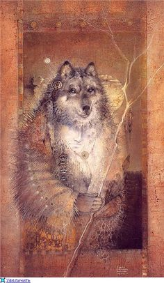 Grandfather Wolf and His Lightening Stick ~ Susan Seddon Boulet