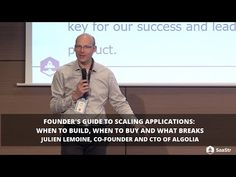 Founder's Guide to Scaling Applications: When to Build, When to Buy and What Breaks by Algolia Co-founder (Video + Transcript)by Louise Lee | Blog Posts, Engineering, Growth, Leadership, Metrics, SaaStr Events, VideosWhen it comes to seamlessly scaling your applications, a top-notch engineering team will be your foundation. Next comes the decisions to build or buy your infrastructure, DNS, monitoring, and analytics tools. Julian Lemoine, Co-Founder, and CTO of Algolia will share his lessons… Social Business, Business Advice, Product Development, Talent Management, Social Media Channels, Dns, Co Founder, Crowd, Leadership