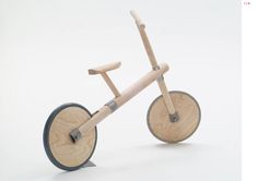 Marianne Cauvard Wood Projects For Kids, Kids Wood, Wooden Toy Cars, Wood Toys, Bamboo Bicycle, Wood Bike, Handmade Wooden Toys, Bamboo Crafts, Natural Toys