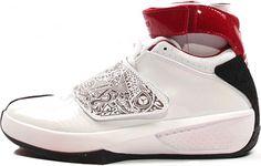 dc650f89c734dd Air Jordan 20 (XX) Original OG White   Varsity Red – Black First Air