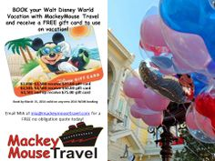 Need a little spending money for your Disney trip? We're here to help!! http://www.mackeymousetravel.com #DisneyWorld #FamilyVacation #DisneyVacation