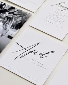 Modern and elegant minimalist wedding invitation suite weddinginvitationinspiration Minimalist Wedding Invitations, Beach Wedding Invitations, Wedding Invitation Wording, Wedding Stationary, Invites, Invitation Suite, Event Invitations, Calligraphy Invitations, Wedding Invitations Elegant Modern