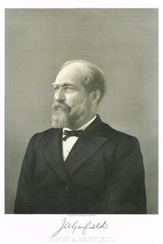 "Presidents of the United States - ""JAMES A. GARFIELD"" - Steel Engravings - 1881"