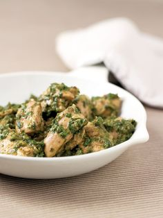 Spinach & Chicken Curry