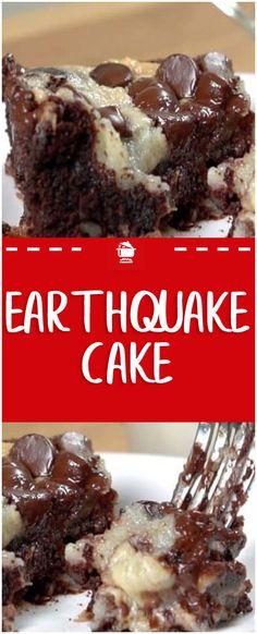EARTHQUAKE CAKE – Home Family Recipes