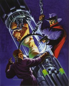 The Shadow: Silent Death - Steranko cover art