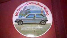 Automobili anni 70/80 AUSTIN METRO Adesivo da collezione