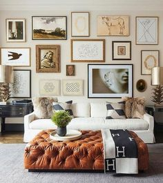 27 Smart And Simple Wall Gallery Decor Ideas For Living Room