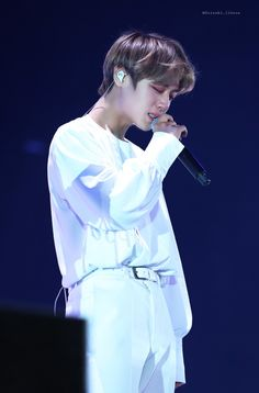 Park Jihoon Produce 101, Baby Park, Lai Guanlin, Kim Jaehwan, Ha Sungwoon, Ji Sung, Baekhyun, Crying, Parks