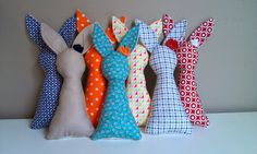 Fabric bunny DIY