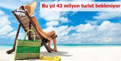 """TÜRSAB Başkanı Ulusoy, """"2014 yılı sonu itibariyle Türkiye'ye gelecek toplam turist sayısının 43 milyon, turizm gelirinin ise 35 milyar dolar civarında gerçekleşeceği tahmin ediyoruz"""" dedi"""