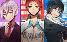 Hamatora, Kuroko no Basuke, Noragami, Yato