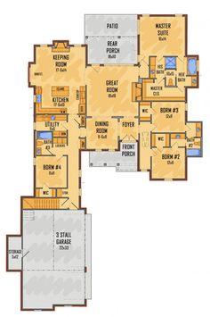 #657406 - IDG5312A : House Plans, Floor Plans, Home Plans, Plan It at HousePlanIt.com