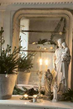 Det skønneste julebillede fra Jeanne d´Arc Living Magasinet.  Køb det hos www.FrokenKlara.dk