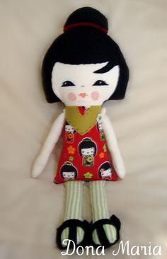 Boneca Maria Nissei