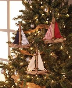 Sailboat Ornaments More