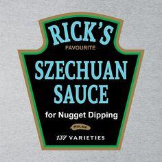 Ricks Favourite Mulan Szechuan Dipping Sauce Rick And Morty