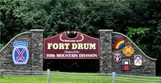 Fort Drum, NY - Post and Community Information: http://www.militaryavenue.com/Fort+Drum/415/Home.aspx