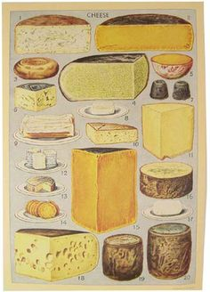 Caution: graphic display of cheese