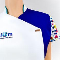 RMS-15022 Salon Uniform, Optometry Office, Clinic Logo, Pharmacy Design, Medical Uniforms, Medical Scrubs, Dentistry, Chef Jackets, Polo Ralph Lauren
