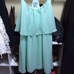 Blue Mint dress Blue Mint Dress. EUC. Size large Charlotte Russe Dresses Mini