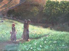 Ambroise Gioan Peintre provencal fin 19e sciècle