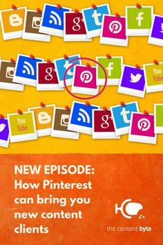 Are you a freelancer looking for new clients or more eyeballs on your site? New this week on our podcast #TheContentByte, we chat to @simonepavils about how to hone your Pinterest strategy to drive traffic to your website, boost engagement and get noticed by potential clients. Listen in wherever you find good podcasts! #content #pinterest #freelancing New Week, Bring It On, Content, Engagement, Website, News, Engagements