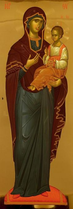 The Rich Classicism of Fr. Byzantine Icons, Byzantine Art, Religious Icons, Religious Art, Paint Icon, Religion, The Embrace, Best Icons, Diego Rivera