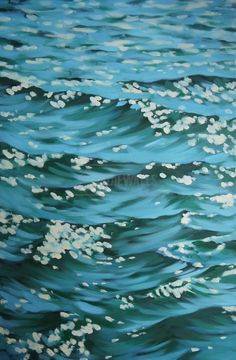 Oil Painting Flowers Art Dutch Masters Floral Still Life Modern Oil Pastel Artists Moon Canvas Art Giant Canvas Wall Art Sea Drawing, Water Drawing, Shelter Island, Oil Painting Flowers, Painting Of Water, Guache, Water Art, Realism Art, Seascape Paintings