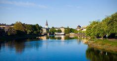 """Jag fick """"Karlstad"""" på """"Vilken svensk stad hör du egentligen hemma i?"""". Vad fick du?"""