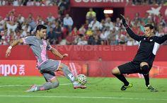 La diferencia en el primer tiempo estuvo en la efectividad de cara a gol del @SevillaFC. (2-0) #SFCvRVM