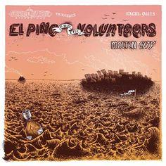 El Pino And The Volunteers - Molten City
