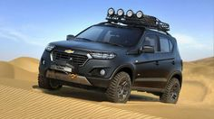 From Russia with Love: the Chevrolet Niva (not available in the US). Cool little concept.