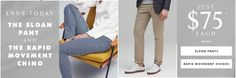 Banana Republic Canada Deals: Today Get Sloan Pants & Rapid Movement Chinos for $75 Each https://www.lavahotdeals.com/ca/cheap/banana-republic-canada-deals-today-sloan-pants-rapid/298117?utm_source=pinterest&utm_medium=rss&utm_campaign=at_lavahotdeals&utm_term=hottest_12