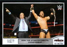 2014 Topps WWE Road to Wrestlemania #14 Curtis Axel Front