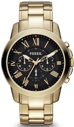 FS4815 - Authorized Fossil watch dealer - MENS Fossil GRANT, Fossil watch, Fossil watches #menswatchesfossil
