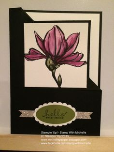 Stampin' Up! - Stamp With Michelle: Remarkable You Corner Flip Card