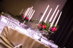 Candles, Table Decorations, Home Decor, Elegance Fashion, Decoration Home, Room Decor, Candy, Candle Sticks, Home Interior Design