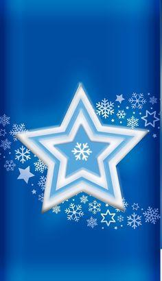 By Artist Unknown. Anchor Wallpaper, Star Wallpaper, Pattern Wallpaper, Wallpaper Backgrounds, Winter Snow Wallpaper, Christmas Wallpaper, Star Background, Background Patterns, Blue Wallpapers