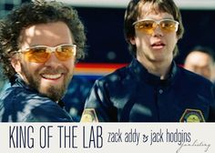 King of the Lab. Dr. Jack Hodgins. Zack. TJ Thyne