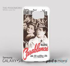 Casablanca The Movie for iPhone 4/4S, iPhone 5/5S, iPhone 5c, iPhone 6, iPhone 6 Plus, iPod 4, iPod 5, Samsung Galaxy S3, Galaxy S4, Galaxy S5, Galaxy S6, Samsung Galaxy Note 3, Galaxy Note 4, Phone Case