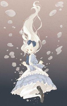 Uma Alice em um mangá.