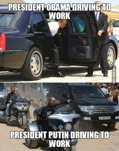 Badass Mr. Putin