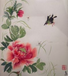 Peony practice by drlolly.