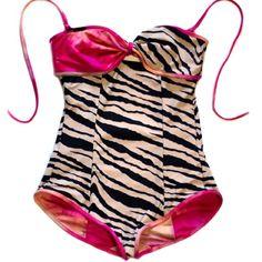 Reversible bathing suitttt. Adorbs.